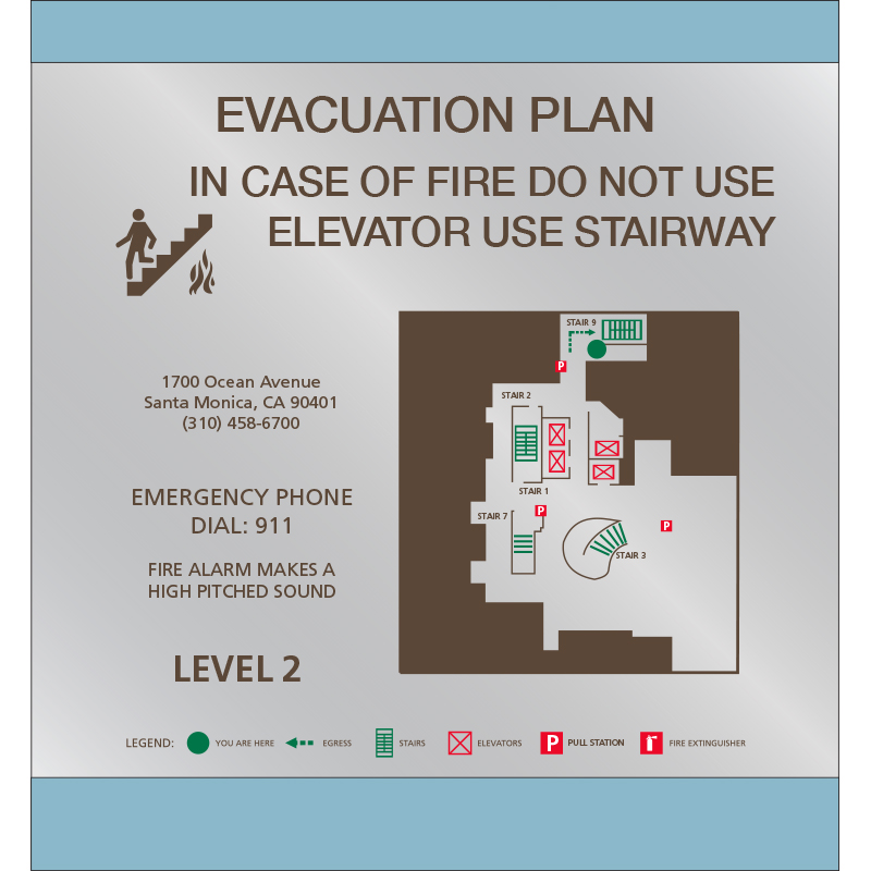 Evacuation Maps
