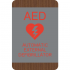 AED Identification Sign