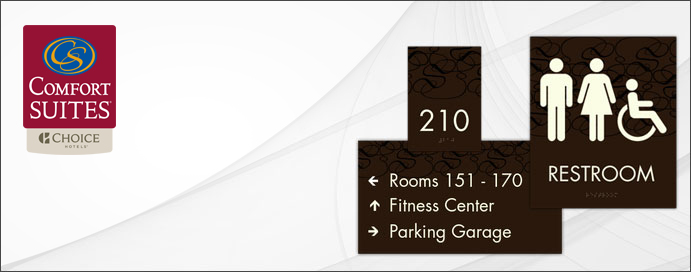 Comfort Suites - Approved Signage