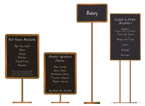 Breakfast / Reception Signs