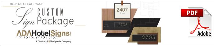Custom Signage - Brand PDF